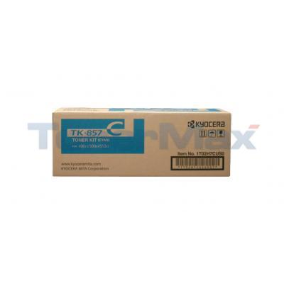 KYOCERA MITA TASKALFA 400CI TONER KIT CYAN